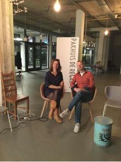 Wijkkrant stationsbuurt - Interview met Pakhuis de Regah in wijkkrant Stationsbuurt Den Haag